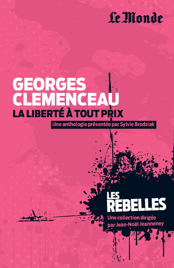 Georges Clemenceau - 9782351841198 - Éditions rue des écoles - couverture