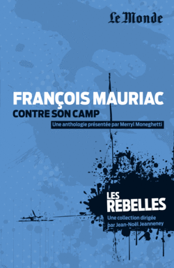François Mauriac - 9782351841242 - Éditions rue des écoles - couverture