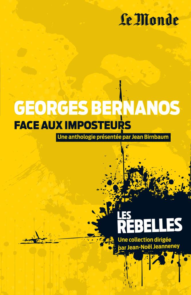 Georges Bernanos - 9782351841280 - Éditions rue des écoles - couverture