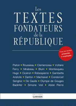Les textes fondateurs de la République - 9782351841532 - Éditions rue des écoles - couverture
