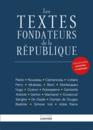 Les textes fondateurs de la République - 9782351841532 - rue des écoles - couverture