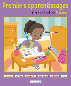 Premiers apprentissages - Grande section 5-6 ans - 9782820800817 - Éditions rue des écoles - couverture