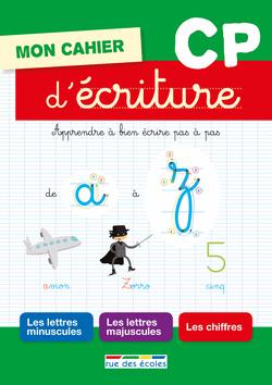 Mon cahier d'écriture CP - 9782820803061 - Éditions rue des écoles - couverture