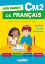 Mon cahier de français CM2 - 9782820803177 - rue des écoles - couverture