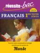 Réussite-bac 2015 - Français, Premières toutes séries - 9782820803245 - rue des écoles - couverture