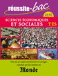 Réussite-bac 2015 - Sciences éco., Terminale ES oblig. et spéc. - 9782820803252 - rue des écoles - couverture