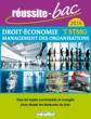 Réussite-bac 2015 - Droit, Économie et Management des organisations, Terminale série STMG - 9782820803320 - rue des écoles - couverture