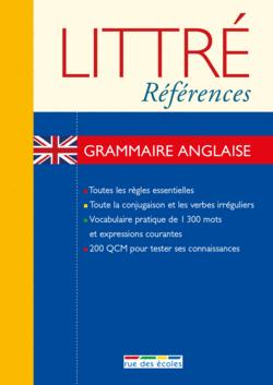 Littré Références : Grammaire anglaise - 9782820803405 - rue des écoles - couverture