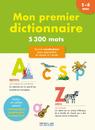 Mon premier dictionnaire, édition 2014 - 9782820803412 - rue des écoles - couverture