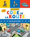 Mon premier Code de la route en 30 activités - 9782820804280 - rue des écoles - couverture
