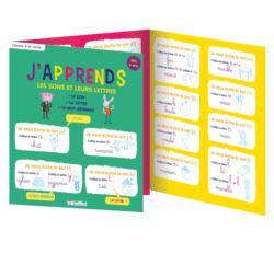 J'apprends les sons et leurs lettres, dès 6 ans - 9782820804334 - Éditions rue des écoles - couverture