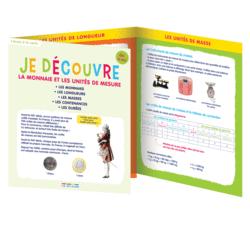 Je découvre la monnaie et les unités de mesure, dès 6 ans - 9782820804457 - Éditions rue des écoles - couverture