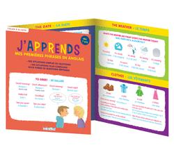 J'apprends mes premières phrases en anglais, dès 7 ans - 9782820804525 - Éditions rue des écoles - couverture