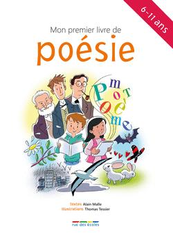 Mon premier livre de poésie - 9782820804761 - rue des écoles - couverture