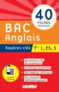 Repères clés : Bac Anglais, Term L, ES, S - 9782820804815 - Éditions rue des écoles - couverture