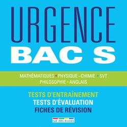 Urgence Bac S, édition 2016 - 9782820805348 - rue des écoles - couverture