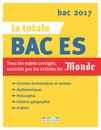 La Totale - Bac ES 2017 - 9782820805454 - rue des écoles - couverture
