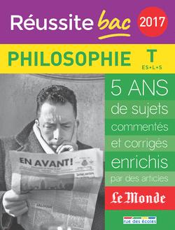 Réussite bac 2017 - La Compil Philosophie, Terminale toutes séries - 9782820805515 - Éditions rue des écoles - couverture