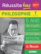 Réussite bac 2017 - La Compil Philosophie, Terminale toutes séries - 9782820805515 - rue des écoles - couverture