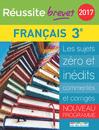 Réussite brevet 2017 - La Compil Français - 9782820805522 - rue des écoles - couverture