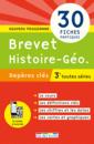 Repères clés : Brevet Histoire-Géo. - 3e - 9782820805904 - rue des écoles - couverture