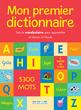 Mon premier dictionnaire - 9782820805959 - rue des écoles - couverture