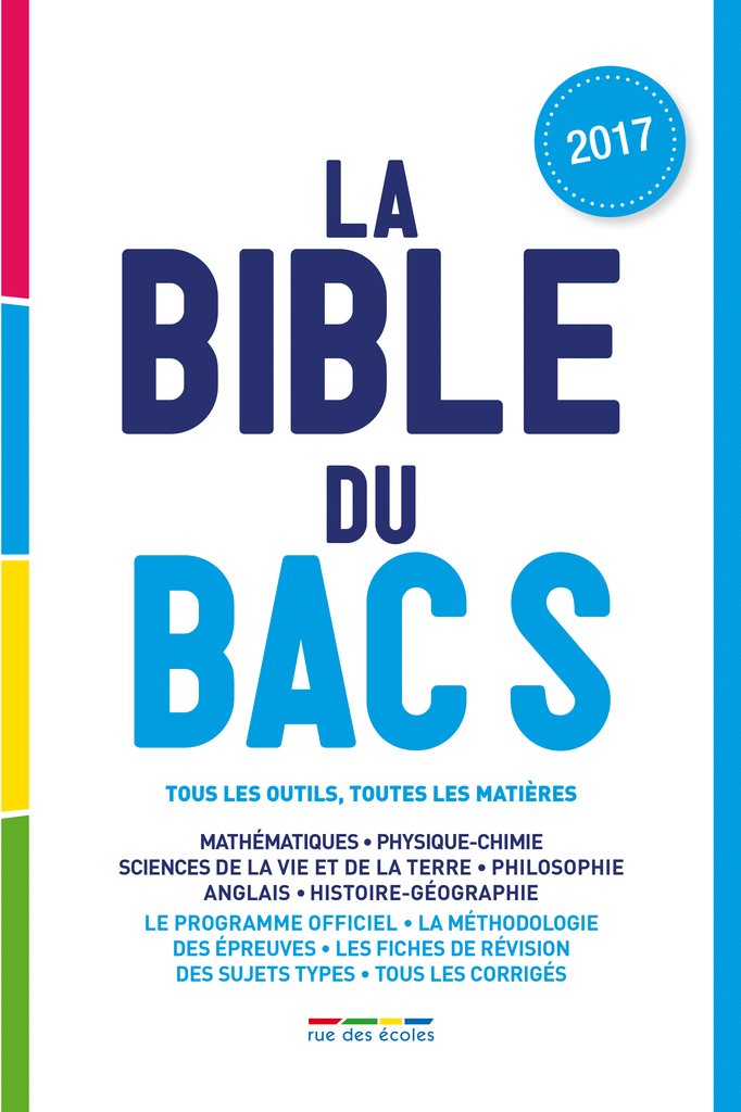 La Bible du bac S - 9782820806055 - Éditions rue des écoles - couverture