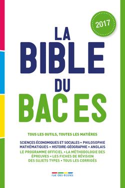 La Bible du bac ES - 9782820806062 - Éditions rue des écoles - couverture