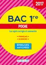 Bac 1re Poche - 2017 - 9782820806109 - rue des écoles - couverture