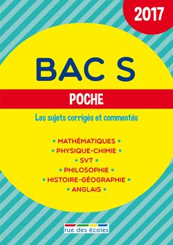 Bac S Poche - 2017 - 9782820806116 - Éditions rue des écoles - couverture