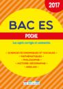 Bac ES Poche - 2017 - 9782820806123 - rue des écoles - couverture
