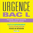 Urgence Bac L, édition 2017 - 9782820806321 - rue des écoles - couverture