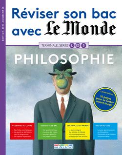 Réviser son bac avec Le Monde : Philosophie, version augmentée - 9782820806390 - rue des écoles - couverture