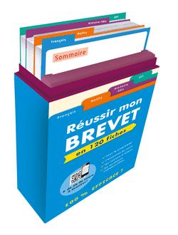 Boîte à fiches : Réussir mon Brevet - 9782820806499 - Éditions rue des écoles - couverture