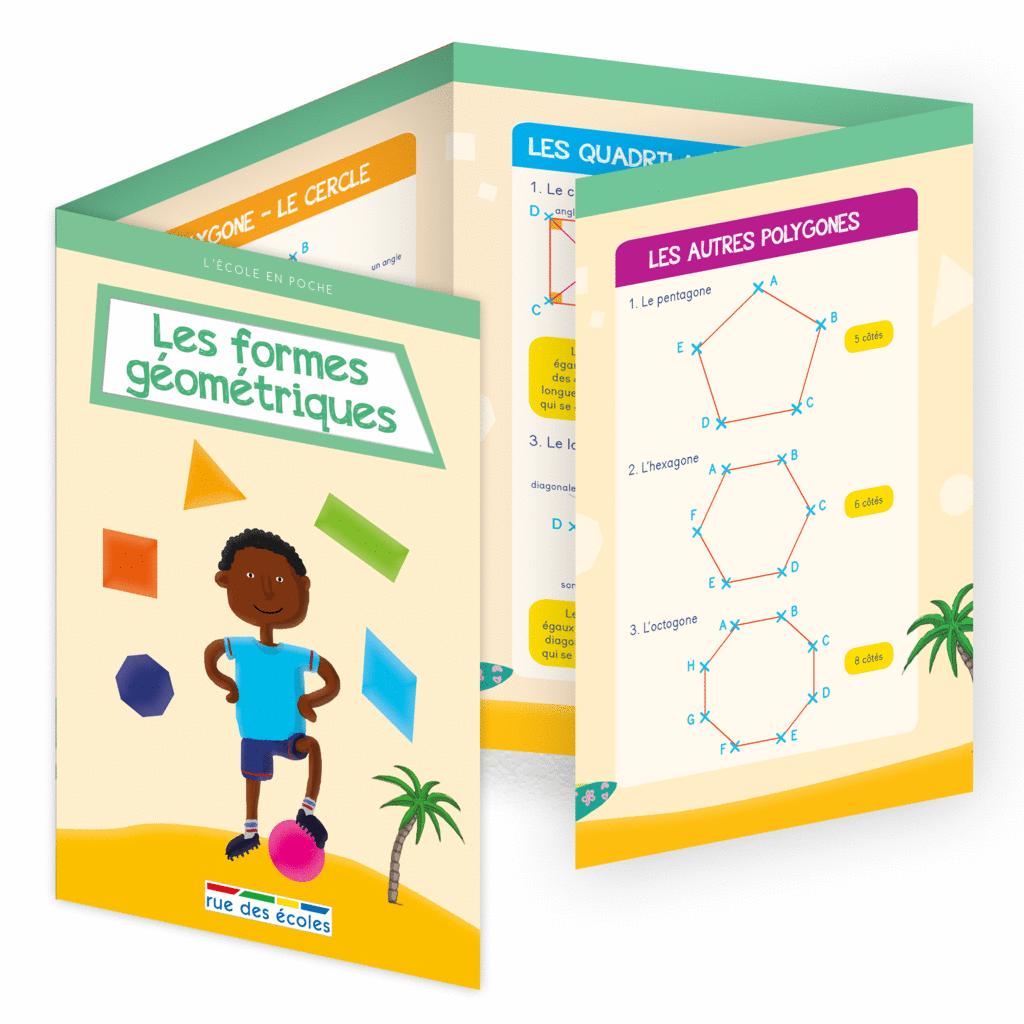L'école en poche - Les formes géométriques - 9782820806529 - Éditions rue des écoles - couverture