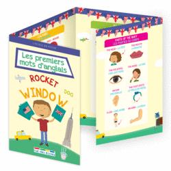 L'école en poche - Les premiers mots d'anglais - 9782820806550 - Éditions rue des écoles - couverture