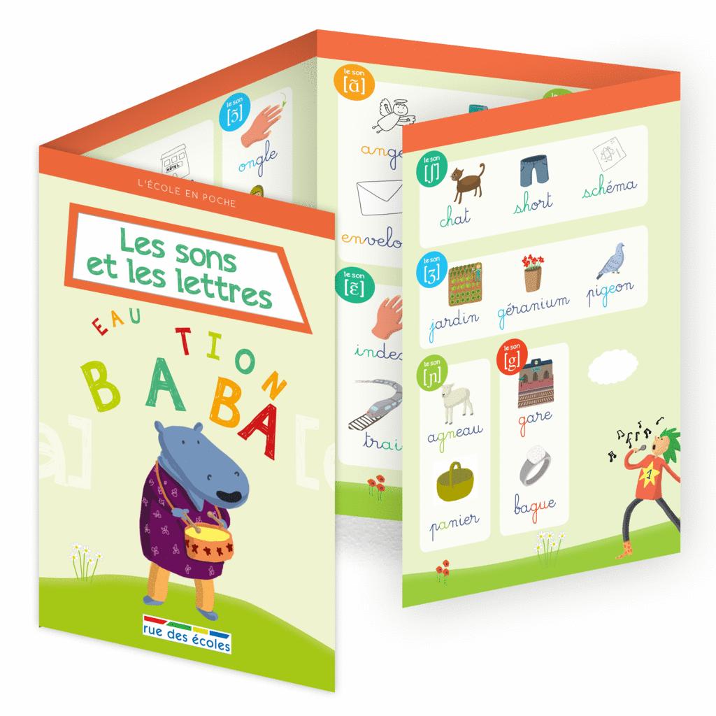 L'école en poche - Les sons et les lettres - 9782820806567 - Éditions rue des écoles - couverture