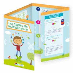 L'école en poche - Les tables de multiplication - 9782820806574 - Éditions rue des écoles - couverture