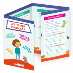 L'école en poche - Les temps composés - 9782820806581 - Éditions rue des écoles - couverture