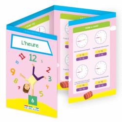 L'école en poche - L'heure - 9782820806604 - Éditions rue des écoles - couverture