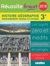 Réussite brevet 2018 - Histoire-Géographie - 9782820806970 - Éditions rue des écoles - couverture