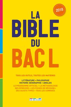 La Bible du bac L - 9782820807236 - Éditions rue des écoles - couverture
