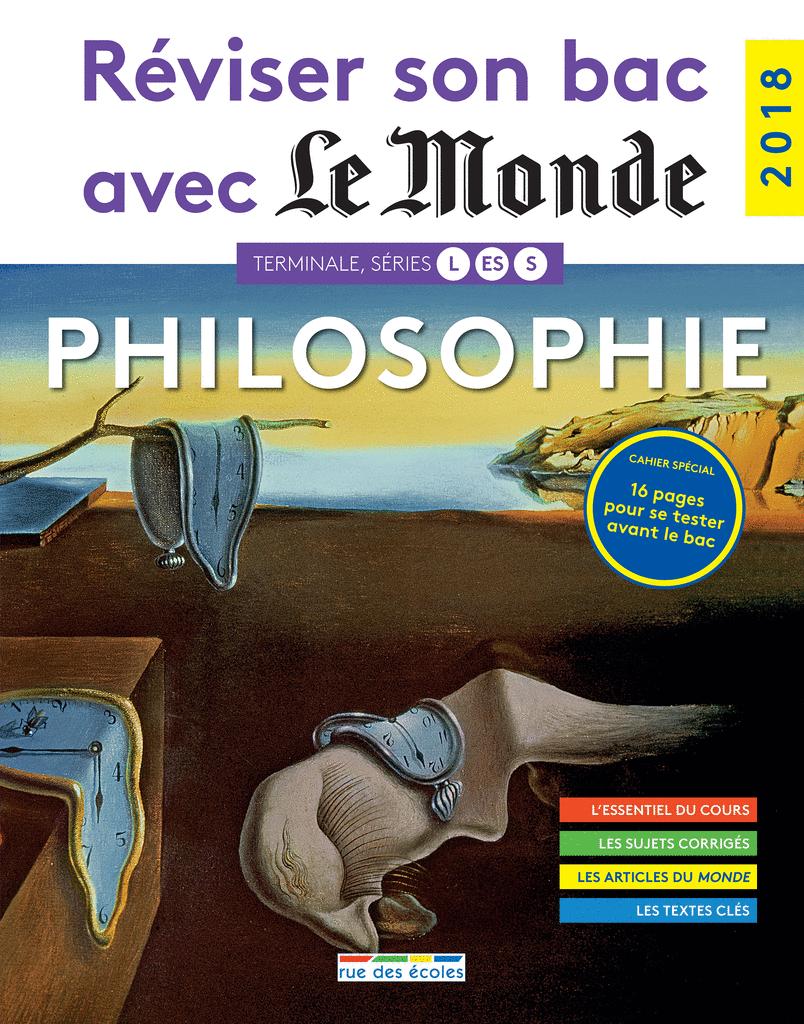 Réviser son bac avec Le Monde : Philosophie, version augmentée - 9782820807328 - Éditions rue des écoles - couverture