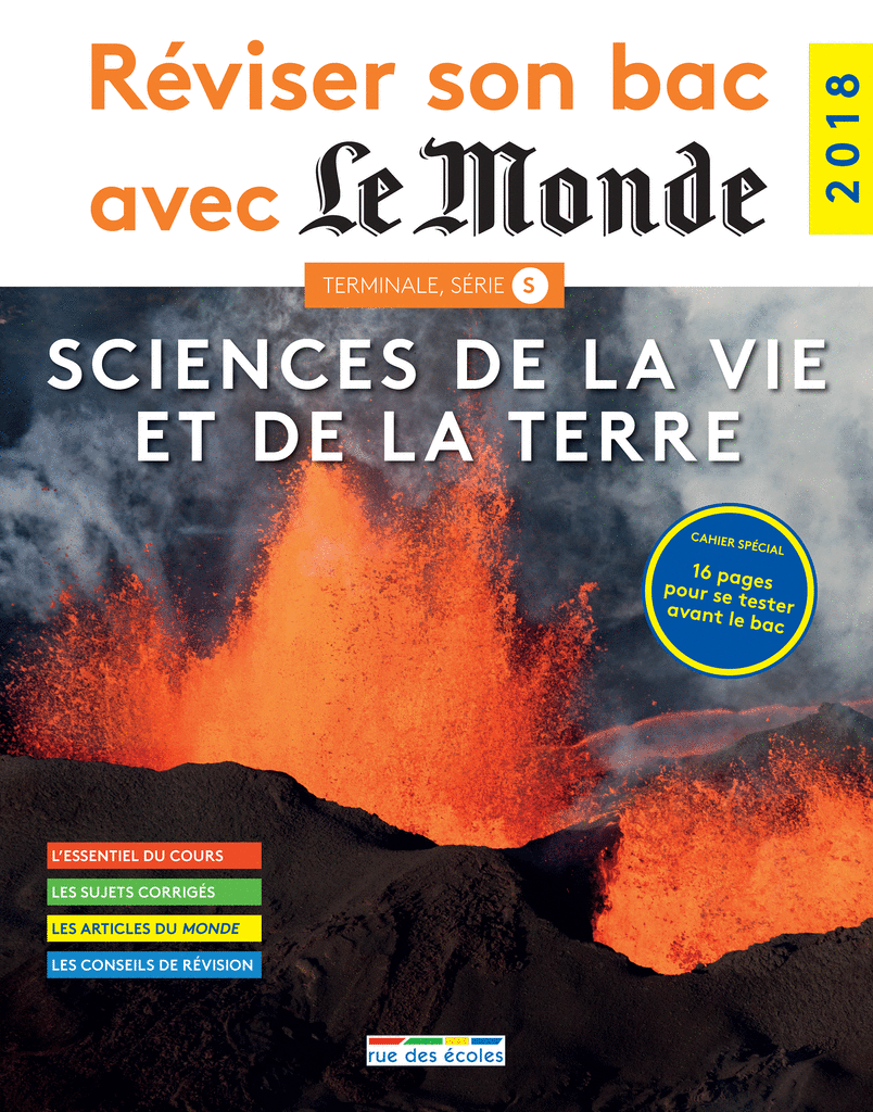 Réviser son bac avec Le Monde : SVT, version augmentée - 9782820807366 - Éditions rue des écoles - couverture