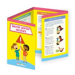 L'école en poche - Savoir porter secours - 9782820807397 - Éditions rue des écoles - couverture