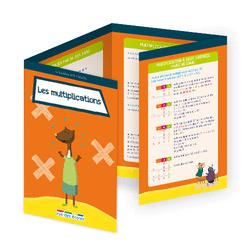 L'école en poche - Les multiplications - 9782820807434 - Éditions rue des écoles - couverture