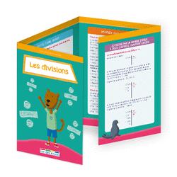 L'école en poche - Les divisions - 9782820807441 - Éditions rue des écoles - couverture