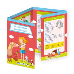 L'école en poche - Les animaux domestiques - 9782820807465 - Éditions rue des écoles - couverture
