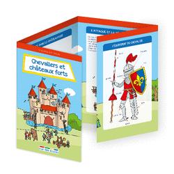 L'école en poche - Chevaliers et châteaux forts - 9782820807489 - Éditions rue des écoles - couverture
