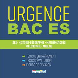 Urgence Bac ES, édition 2018 - 9782820807564 - Éditions rue des écoles - couverture